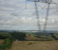 Levantamento de Linha de Transmissão de Energia - Roncador